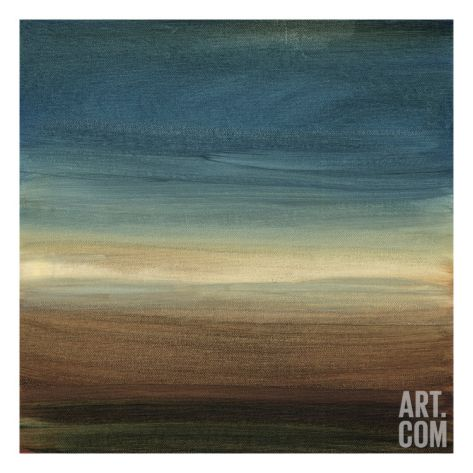 """40"""" x 40"""" Abstract Horizon IV Stretched Canvas Print by Ethan Harper at Art.com"""