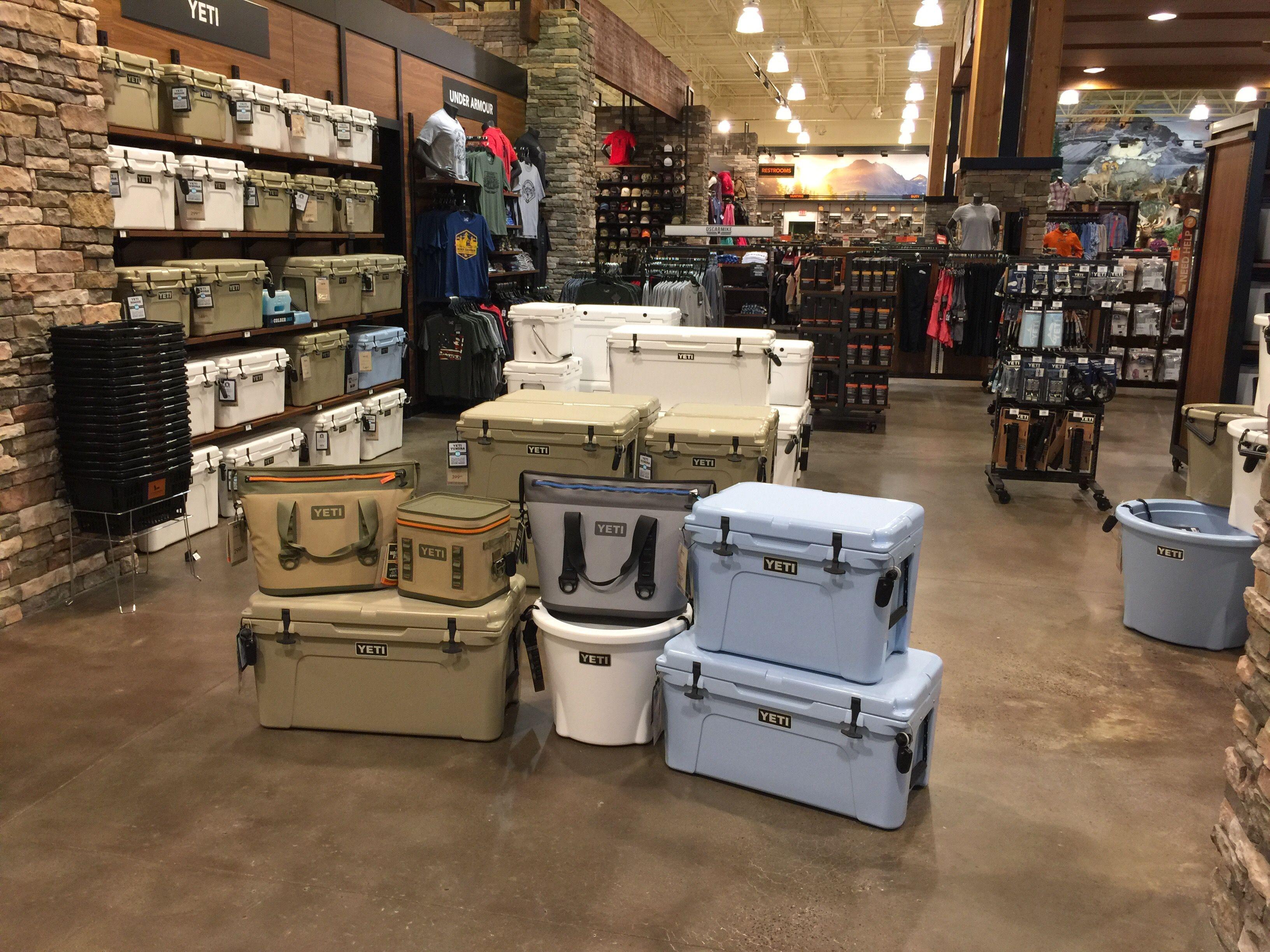 Yeti Floor Stack Display Yeti Coolers Yeti Cooler