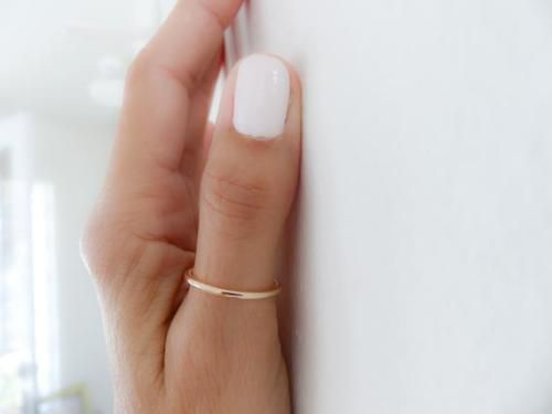 Gold Fill Thumb RingGold Filled RingThumb RingRings for WomanGolden JewelryHandmade JewelryWomen Rings by RossanaJewelryDesign 2400 USD I love the modern simplicity of th...