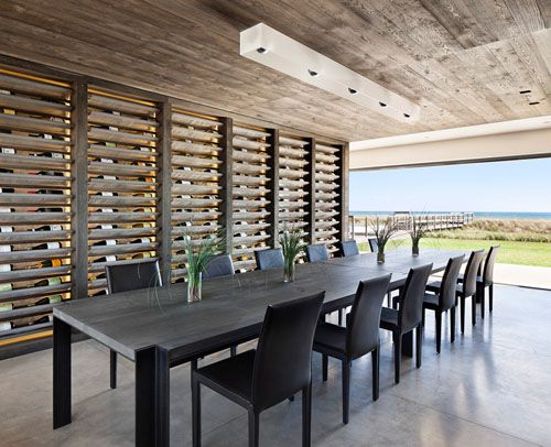 Those Slats On The Wall Are Actually Wine Racks What A Spectacular Tasting Room