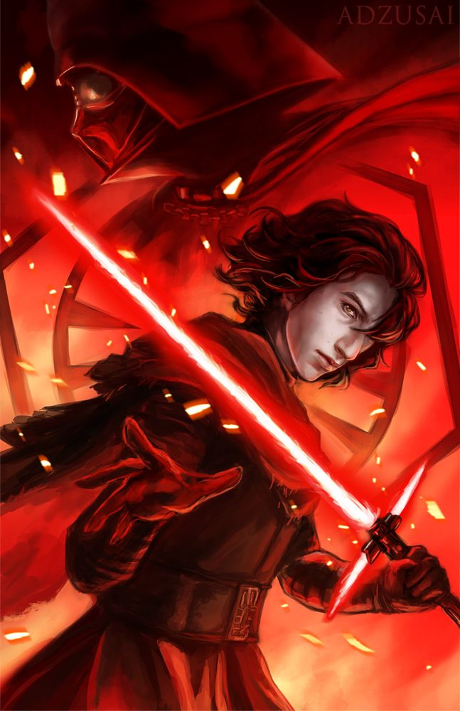 Kylo Ren by AngelofDeathz on DeviantArt #kyloren