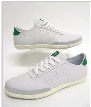 Adidas Originals Plimsole 3 in Neo White Green 80`S Casuals classics ... 28d99bc540