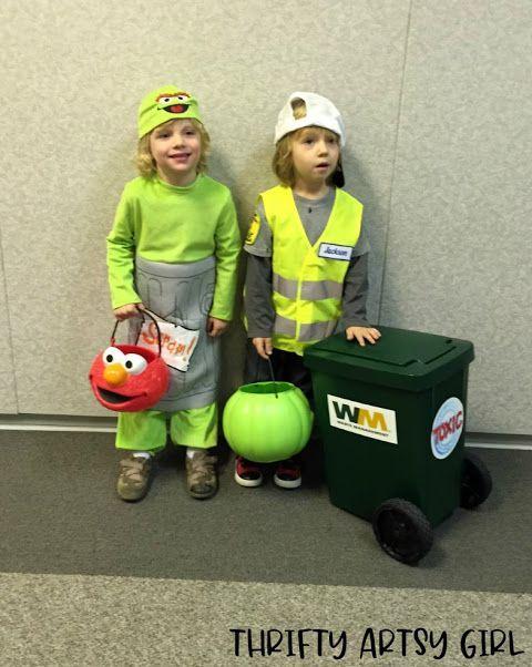Take Out the Trash: DIY Toddler Sized Wheeled Tras