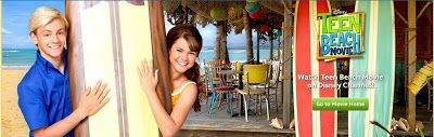 Disney teen beach movie sweepstakes