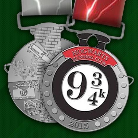 Hogwarts Running Club! Join in the Charity Miles App
