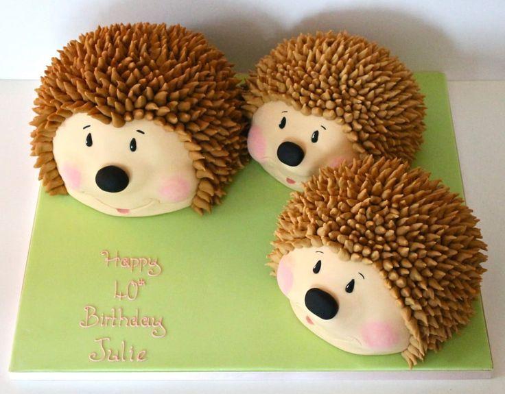 Hedgehog Family торты in 2019 Cake, Hedgehog cake
