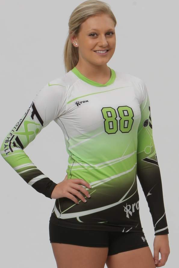 7ffbdb2ce Shaded (3 Color) Sublimated Jersey – Rox Volleyball