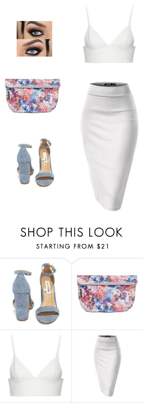 """Untitled #709"" by bibriezcaguadalupe ❤ liked on Polyvore featuring Steve Madden, Danielle Nicole and T By Alexander Wang"