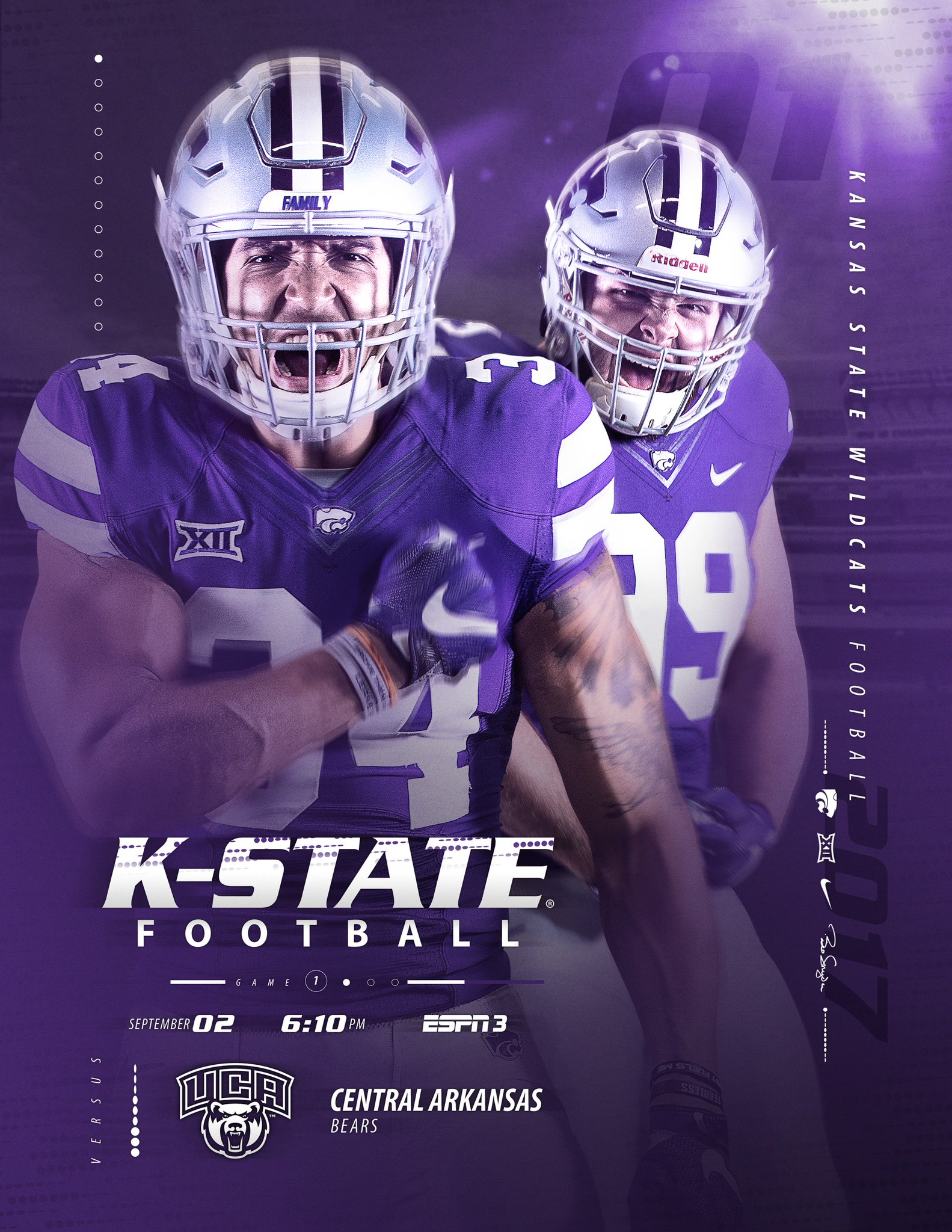 Kansas State Sports Design Sports Flyer Kansas Football