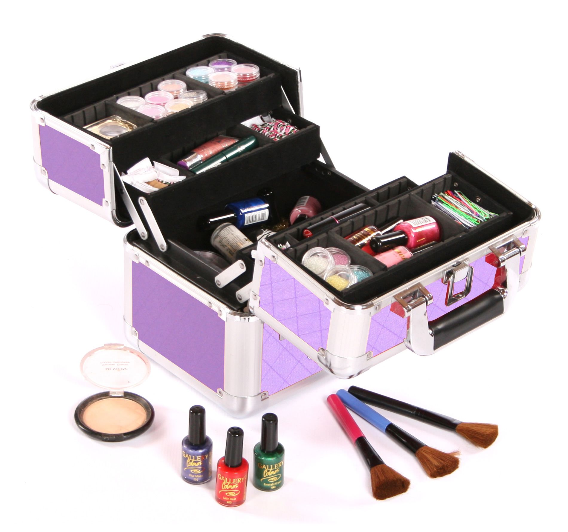 Inside the Urbanity Cosmo Makeup Case | Makeup case ...
