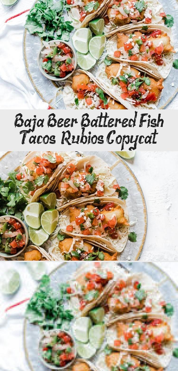 Baja Beer Battered Fish Tacos Rubios Copycat Battered Fish Tacos Beer Battered Fish Tacos Battered Fish