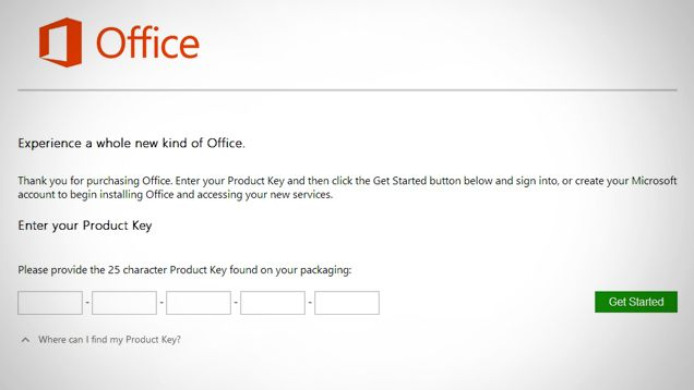 how to install office without disk drive