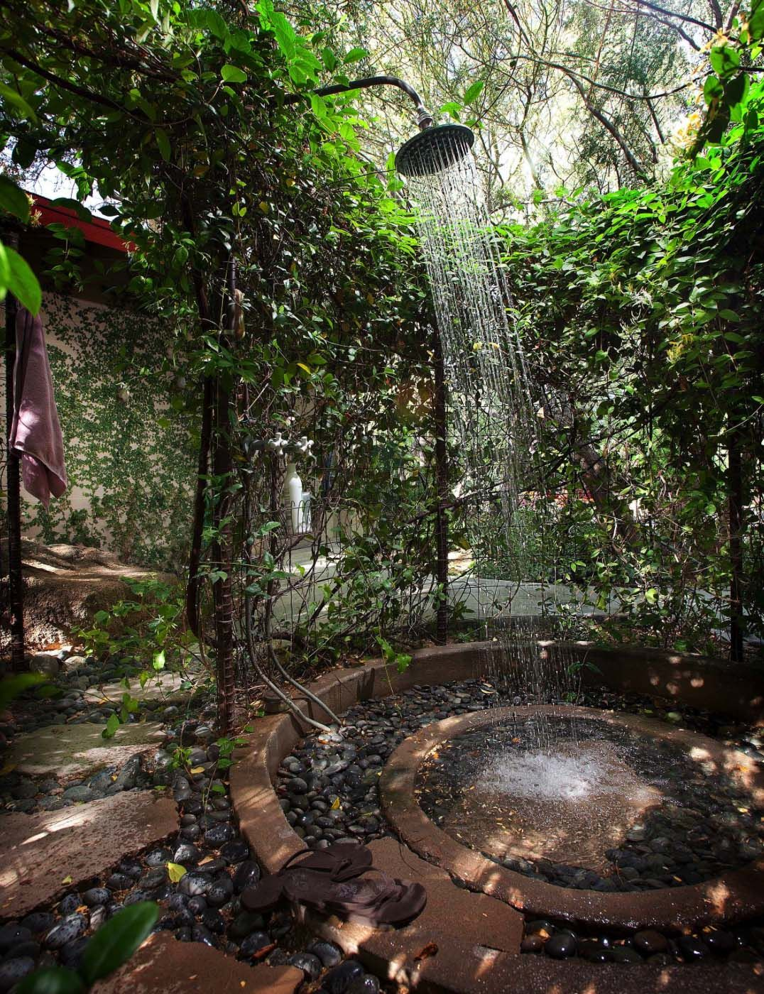 Photo of 45 Stunning outdoor showers that will leave you invigorated