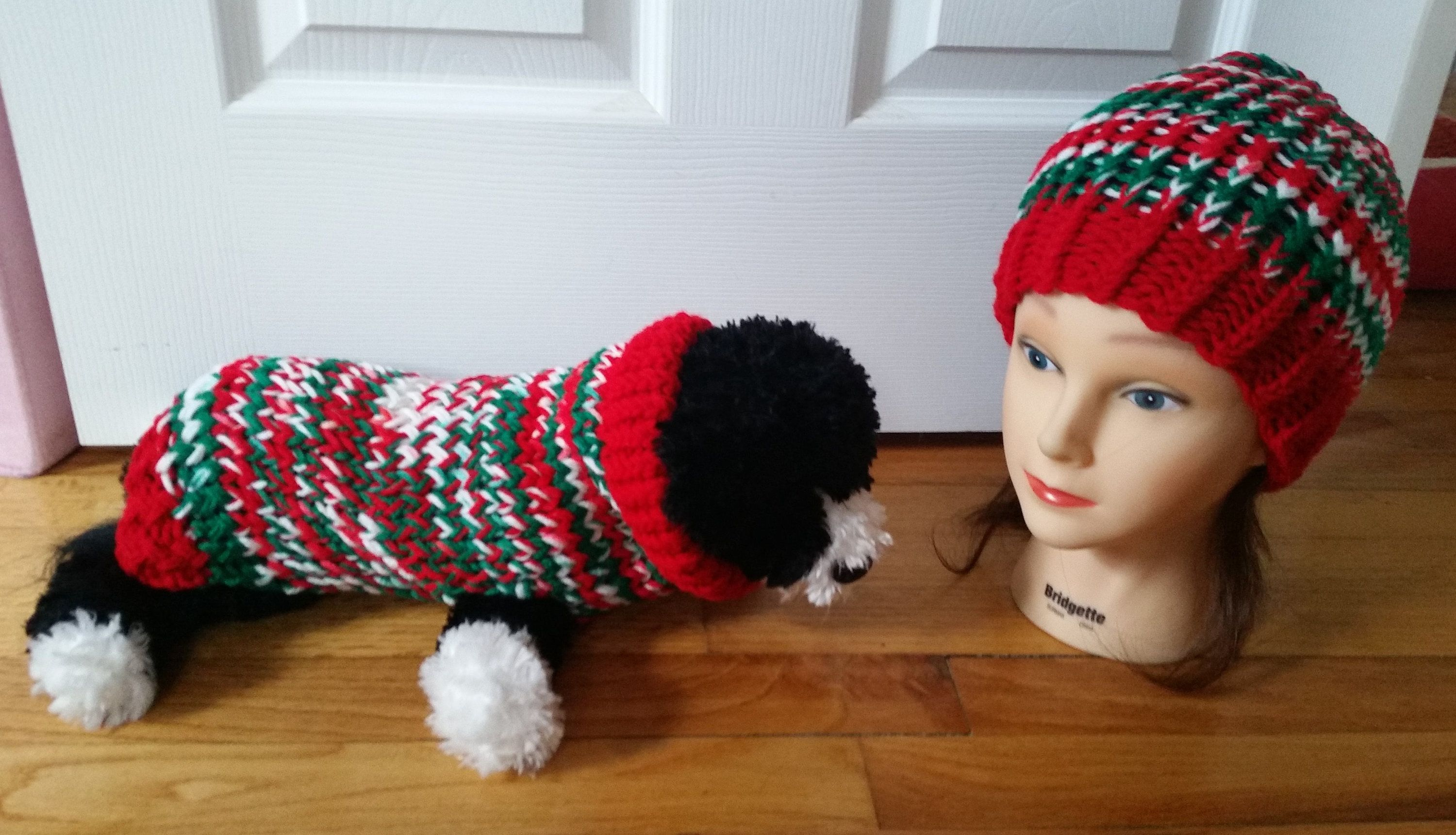 matching christmas pet owner sweater sets xmas small dog and owner christmas small dog