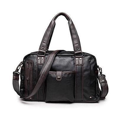 8d4f0a1866 Fashion New Brand Designer Men Travel Bags PU Leather Hand Luggage Duffle  Bag Men Waterproof Shoulder Bag Women Travel Bags