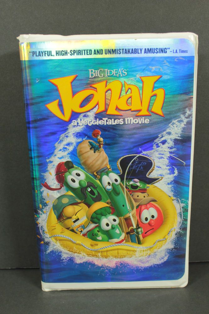 jonah a veggie tales movie vhs 2003 veggie tales