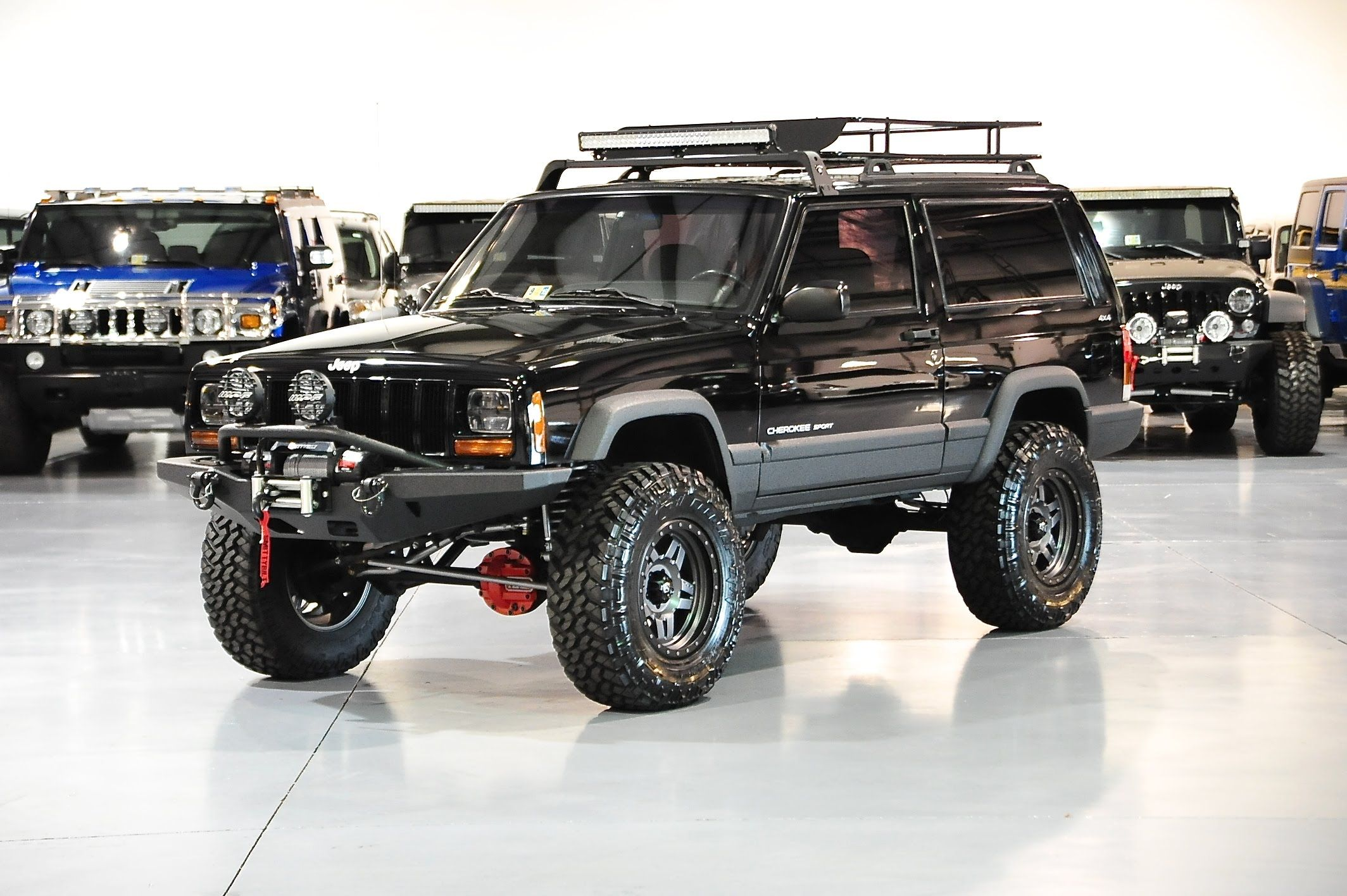 Davis Autosports 2 Door Lifted Built Cherokee Xj Sport For