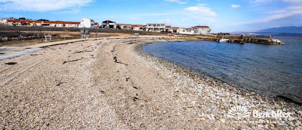 Beach Slatina - Lozice - Island Vir - Dalmatia - Zadar - Croatia