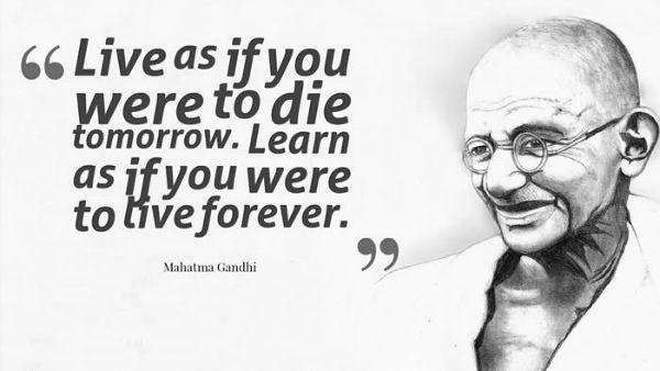 Mahatma Gandhi Quotes Inspiration Gandhi Quotes Mahatma Gandhi