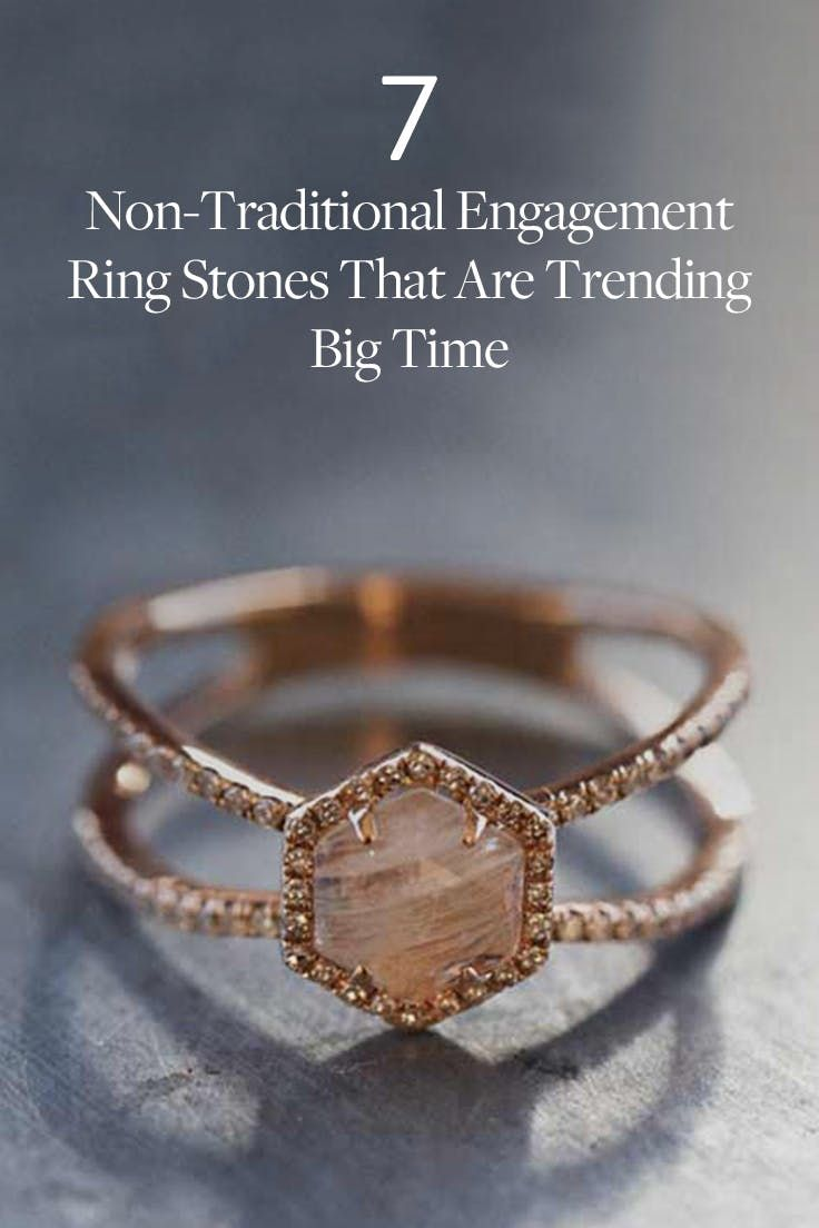 7 NonTraditional Engagement Ring Stones That Are Trending Big Time