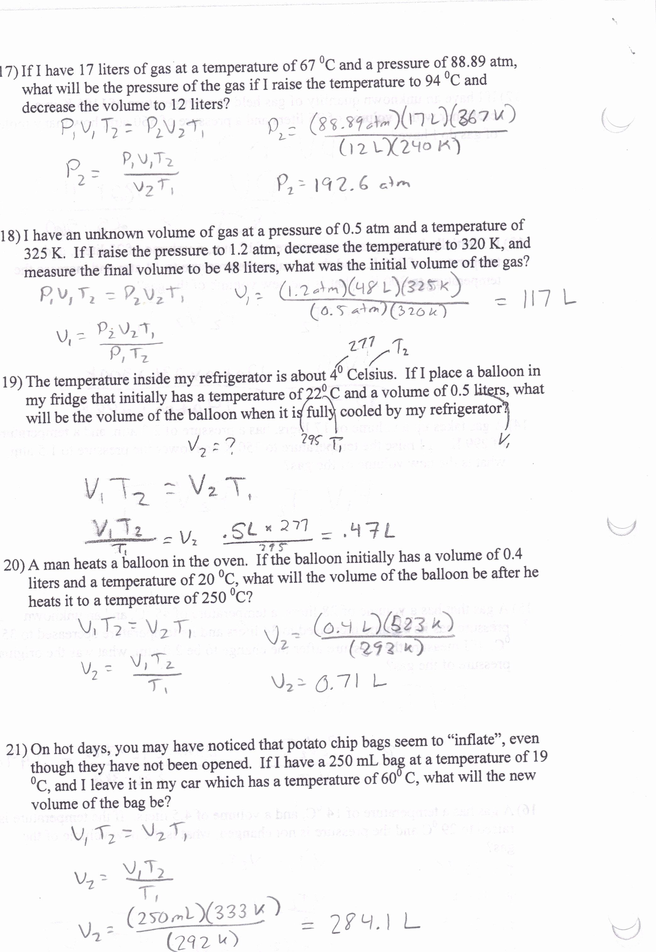 Gas Variables Worksheet Answers Fresh Bined Gas Law Worksheet Answer Key Worksheet Idea In 2020 Worksheet Template Worksheets Rational Expressions
