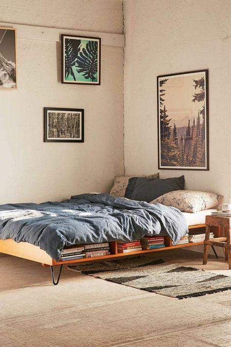 Betten selber bauen mit stauraum  Bett selber bauen - Ein paar schöne Ideen in Sachen DIY Bett ...