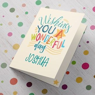Personalised Birthday Cards For Teenagers