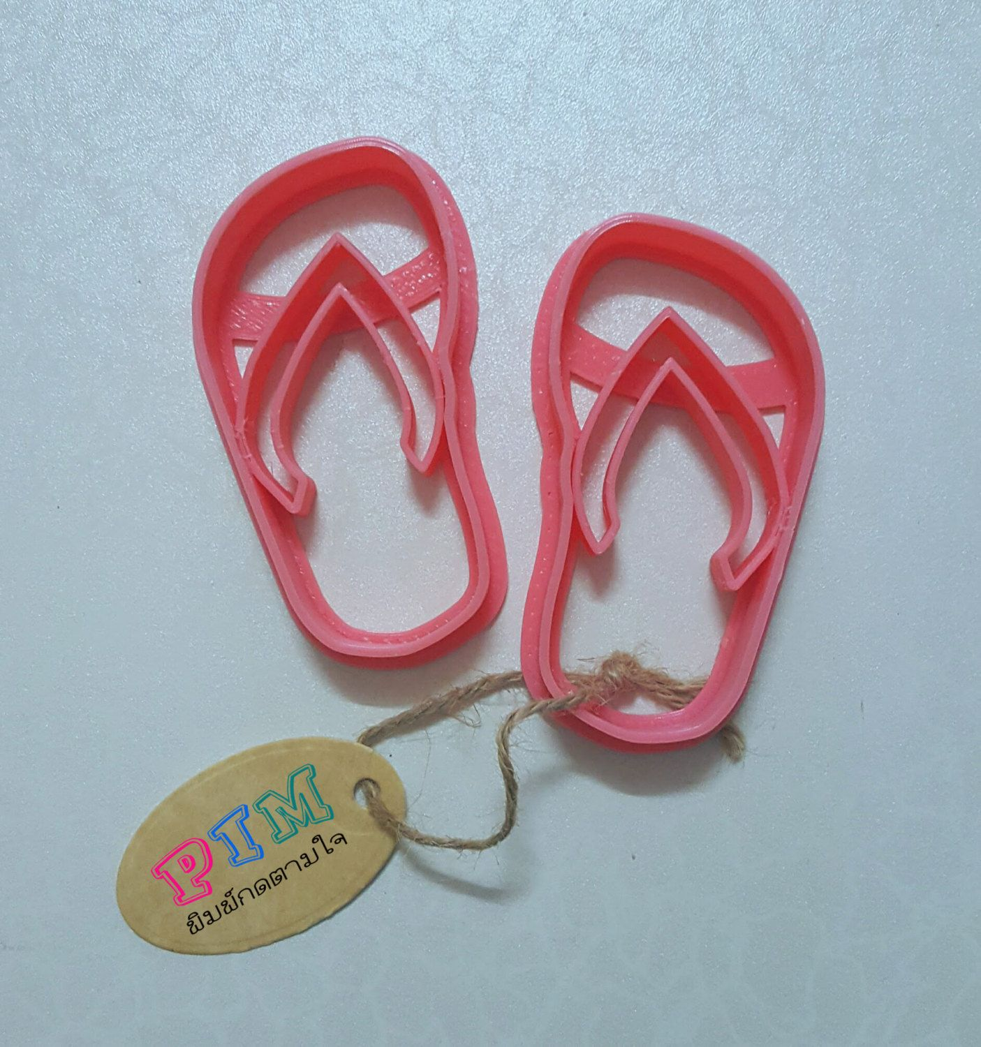 Sandal Cookie Cutter Set by PimCookieCutter on Etsy
