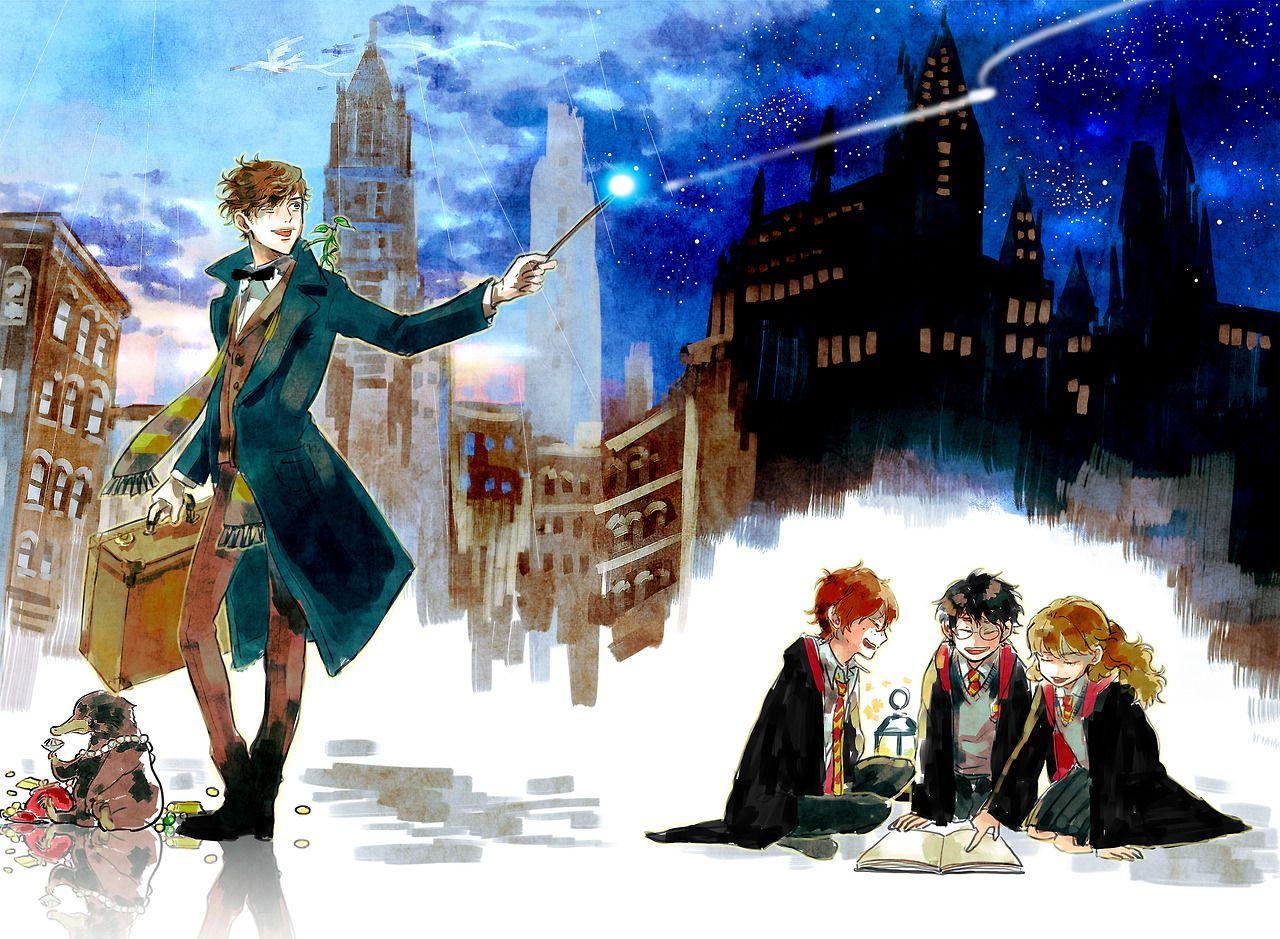 Newt Scamander Fantastic Beasts Harry Potter Fantastic Beasts Harry Potter Fandom Harry Potter Universal