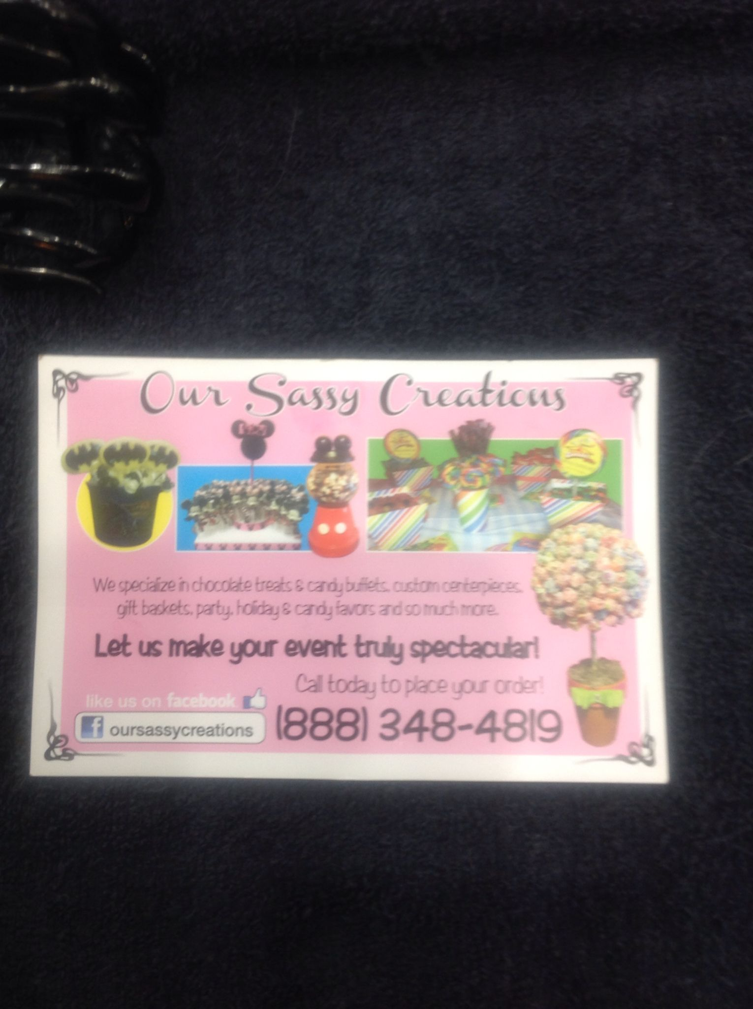 Info for my talent friend Angela if you ned to order chocolate