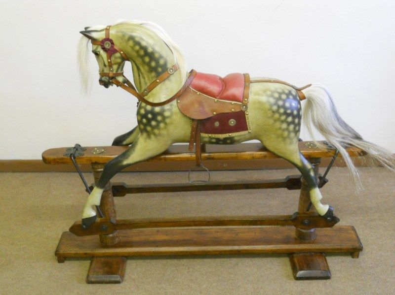 Coming Soon Large F H Ayres Antique Rocking Horse Antique Rocking Horse On Bow Rockers Please Come Back Antique Rocking Horse Rocking Horse Vintage Horse