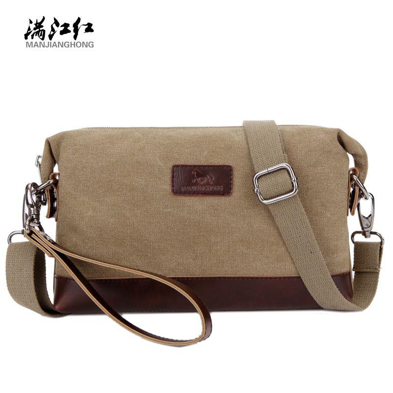 24603bcf83 New Arrive Summer Fashion Small Travel Shoulder Bag Men Messenger Bags  Canvas Day Clutch Bag 1285