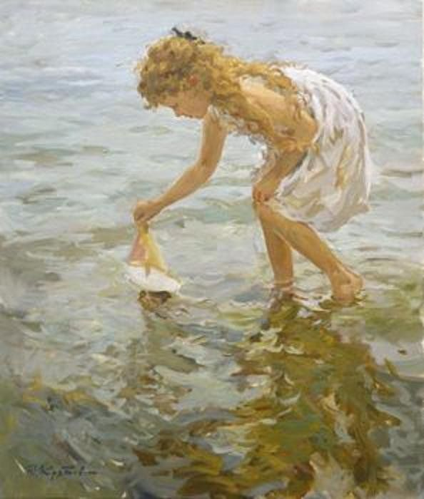 Yuri Krotov 1964 | Russian Impressionist painter | Tutt'Art@ | Pittura * Scultura * Poesia * Musica |