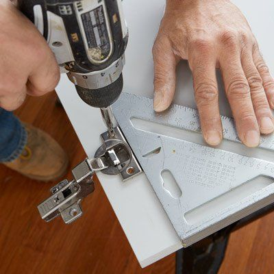 How To Install Concealed Euro Style Cabinet Hinges Kitchen Cabinets Hinges