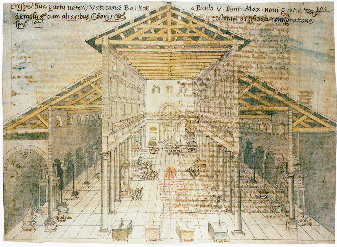 Old St. Peter's Basilica was the building that stood, from