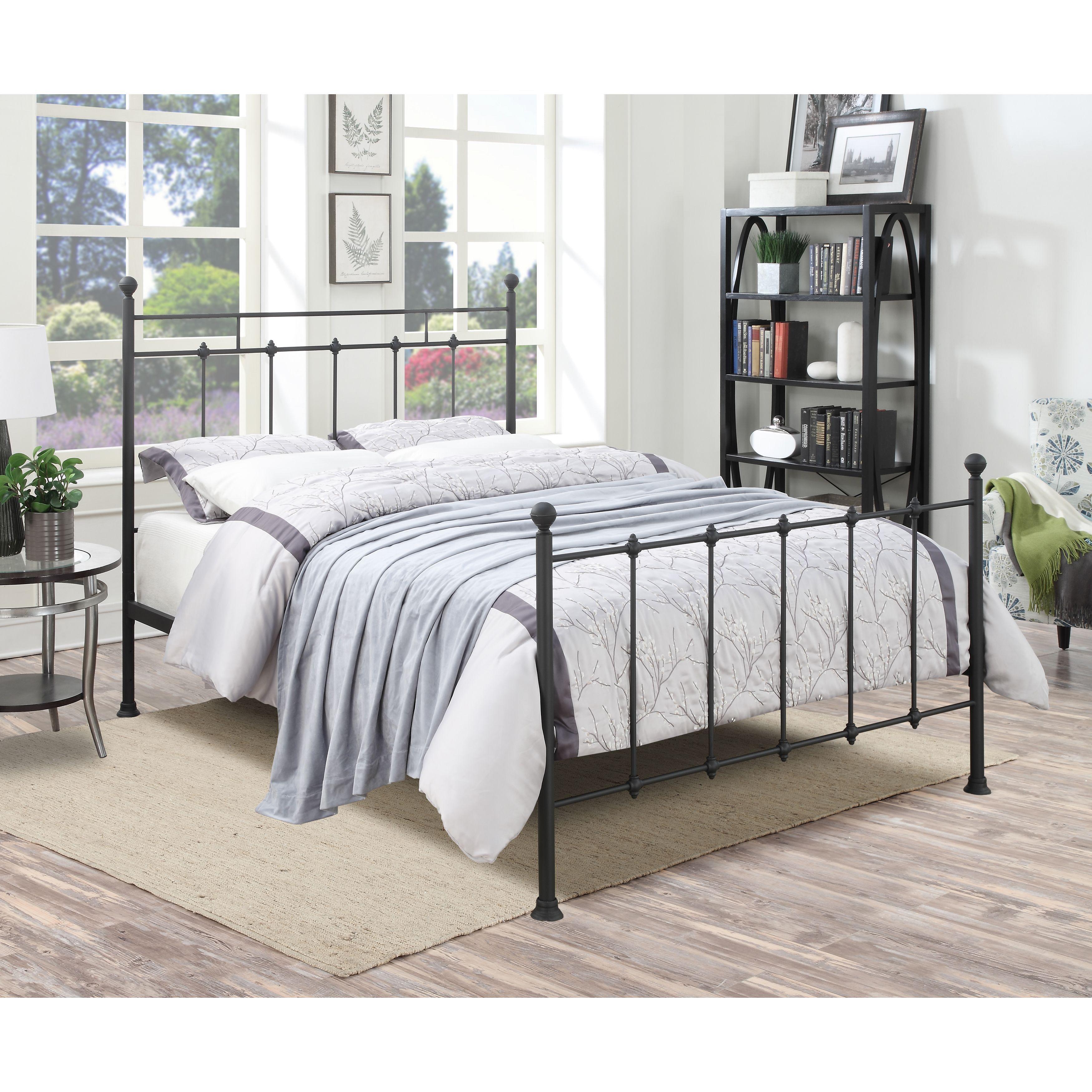 Black Metal Queen Size Bed Black Queen Bed Frame