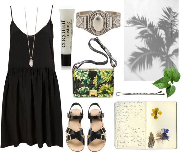 """coconut"" by its-emilyy ❤ liked on Polyvore"