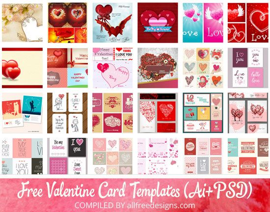 100 Free Editable Valentine Card Templates In Vector And Psd Formats Valentine Card Template Valentines Cards Valentines Card Design