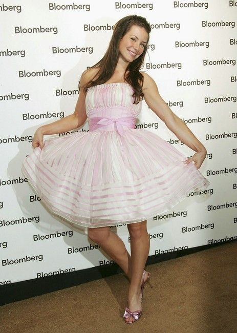 Evangeline Lilly attends the Bloomberg News Party of the Year, following The White House Correspondents' Dinner April 30, 2005 in Washington D.C.