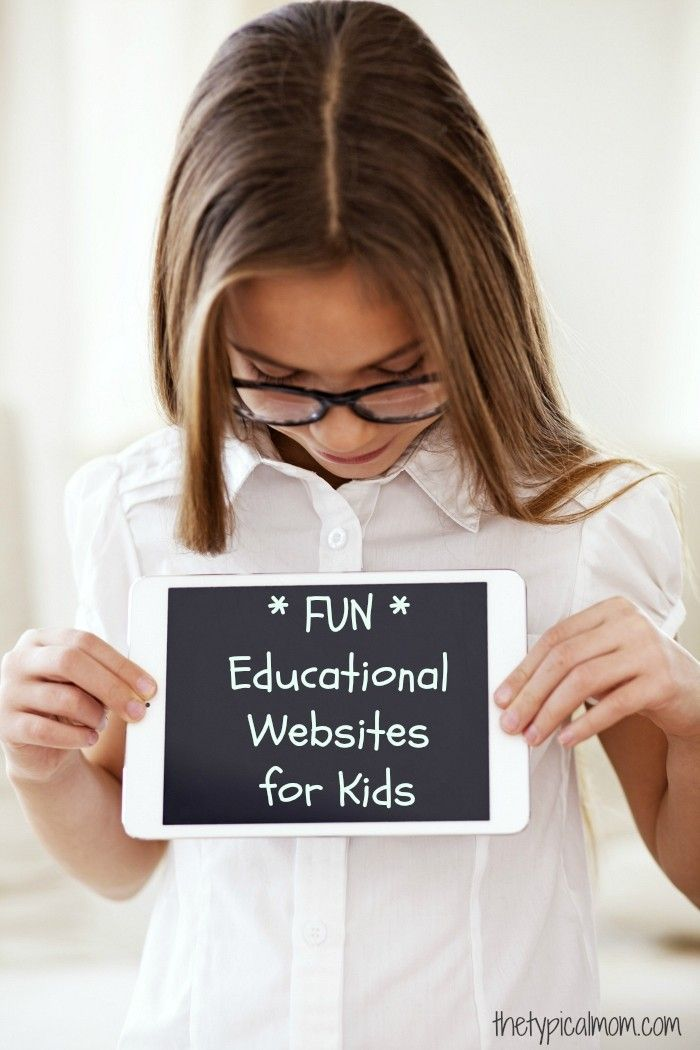 Free & Educational Websites for Kids that are super FUN!! Bookmark ...