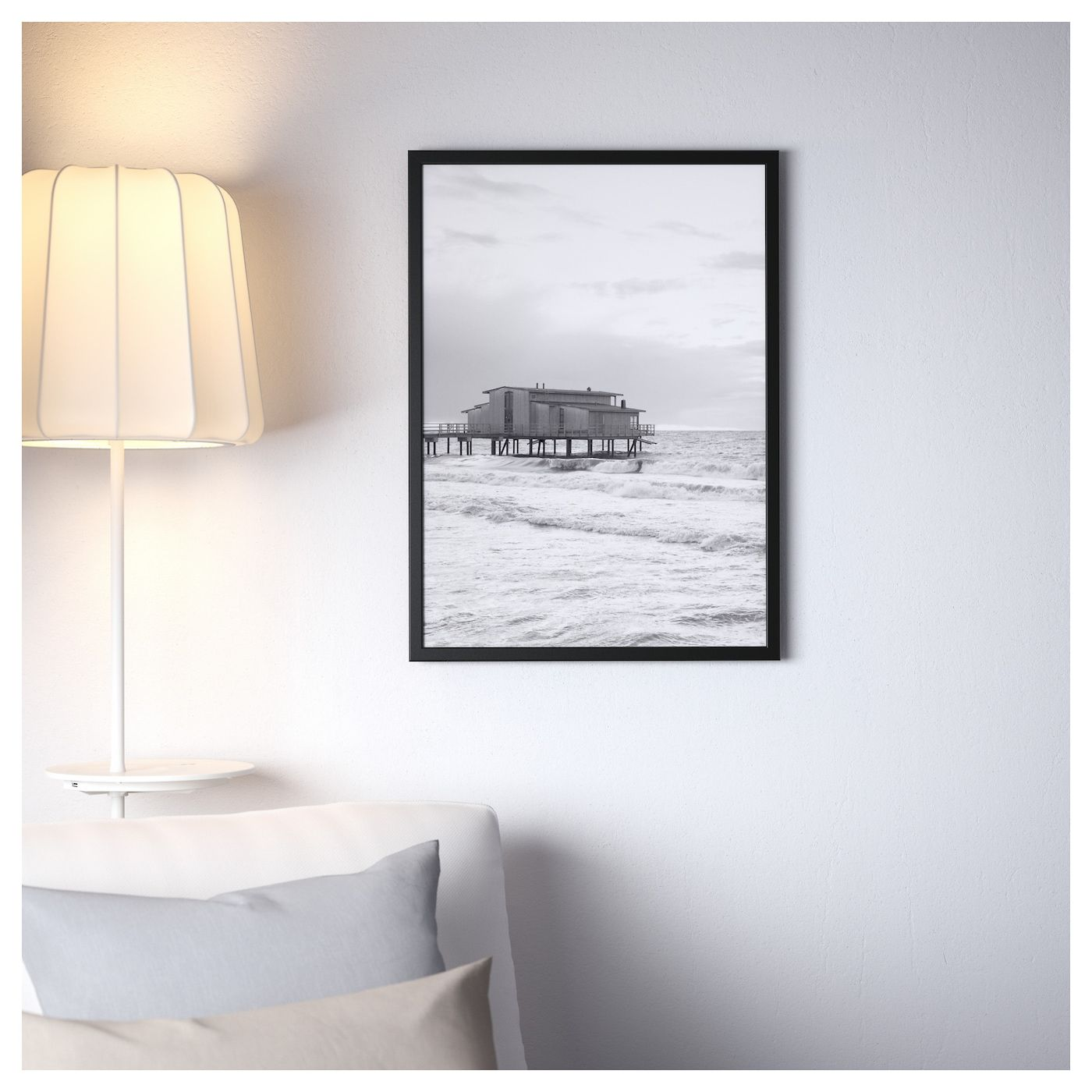 Fiskbo Okvir Crna 50x70 Cm With Images Decorating With Pictures Ikea Home Decor Decals