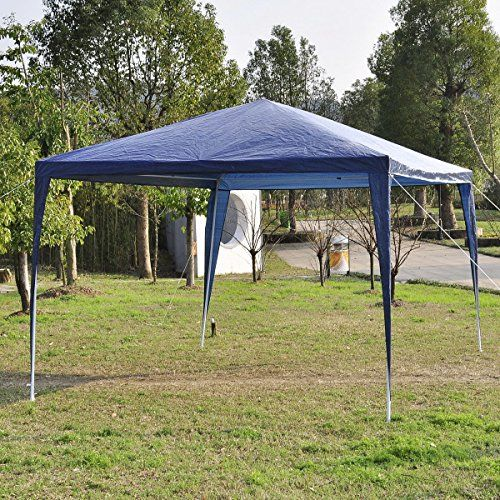10 X10 Outdoor Canopy Party Wedding Tent Garden Gazebo Pavilion Cater Events Blue Check Out This Great Product Gazebo Patio Canopy Canopy Tent