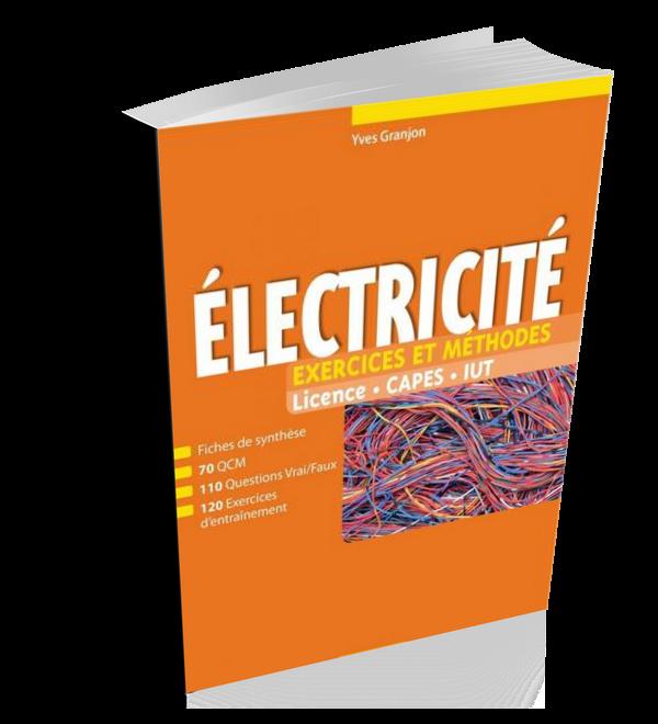Livre Electricite Exercices Et Methodes En Pdf Cours Electromecanique Technology