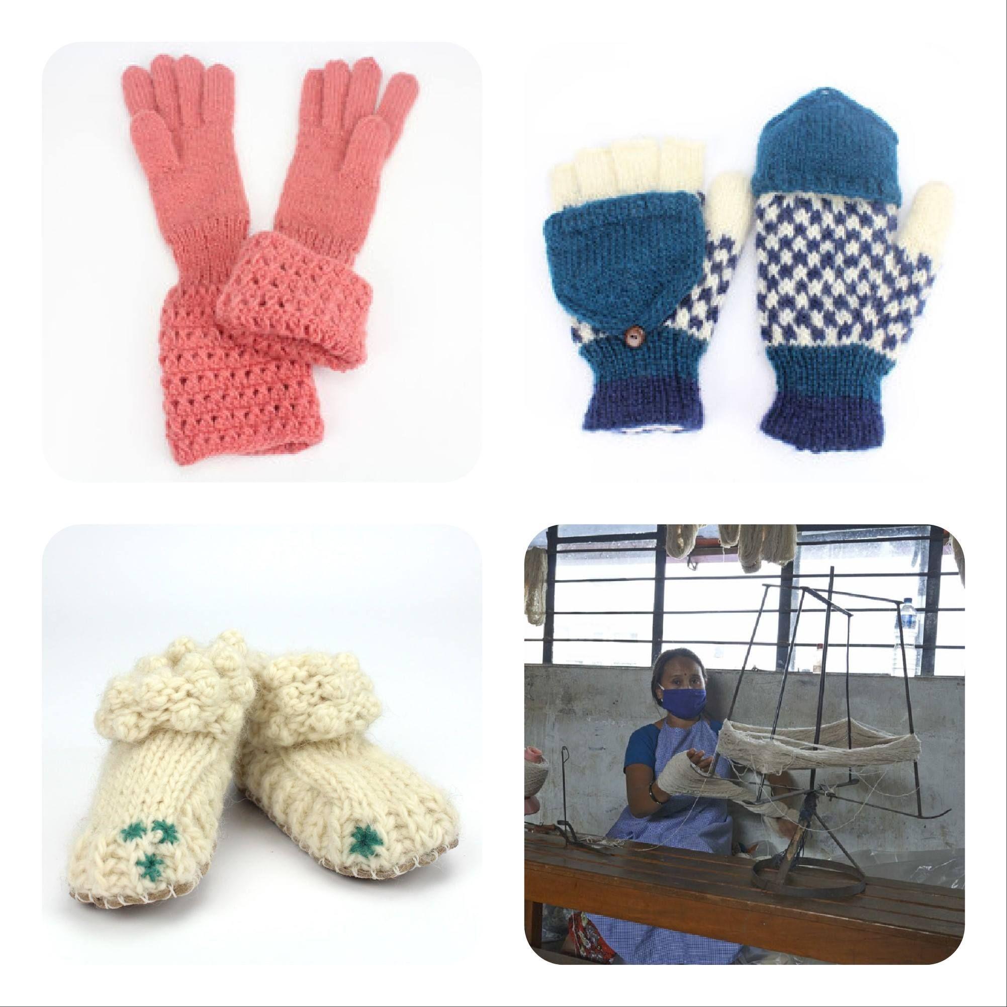 Knitted items Fair from Nepal Jansje design