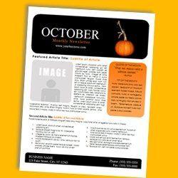 ee1452c20208918b76e87bca3628e27e Teacher Pay Free Newsletter Template For Halloween on