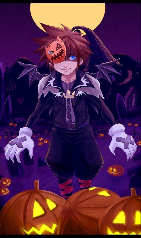 KH- Halloween Sora by ~meru-chan on deviantART   Kingdom Hearts ...