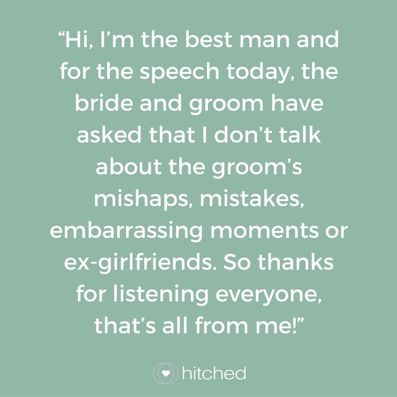 21 Funny Introductions For The Best Man S Sch