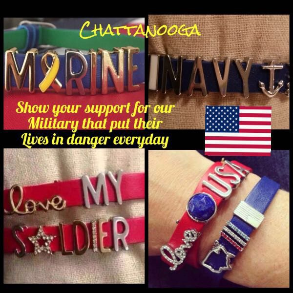 support our troops with a keep collective keeper contact me to create your own - Support Our Troops Silicone Bracelet