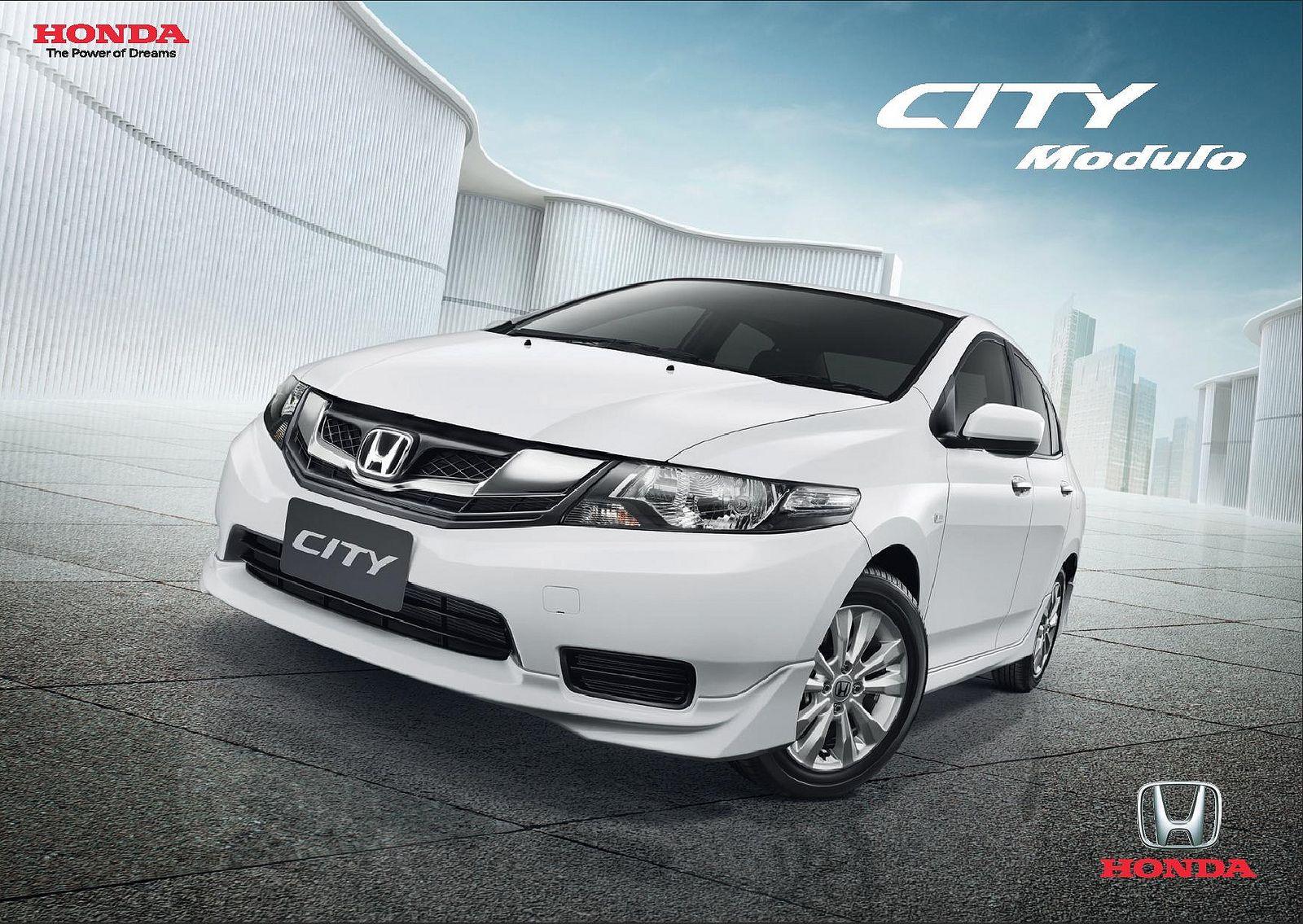 Honda city mk5 modulo thailand brochure 2013