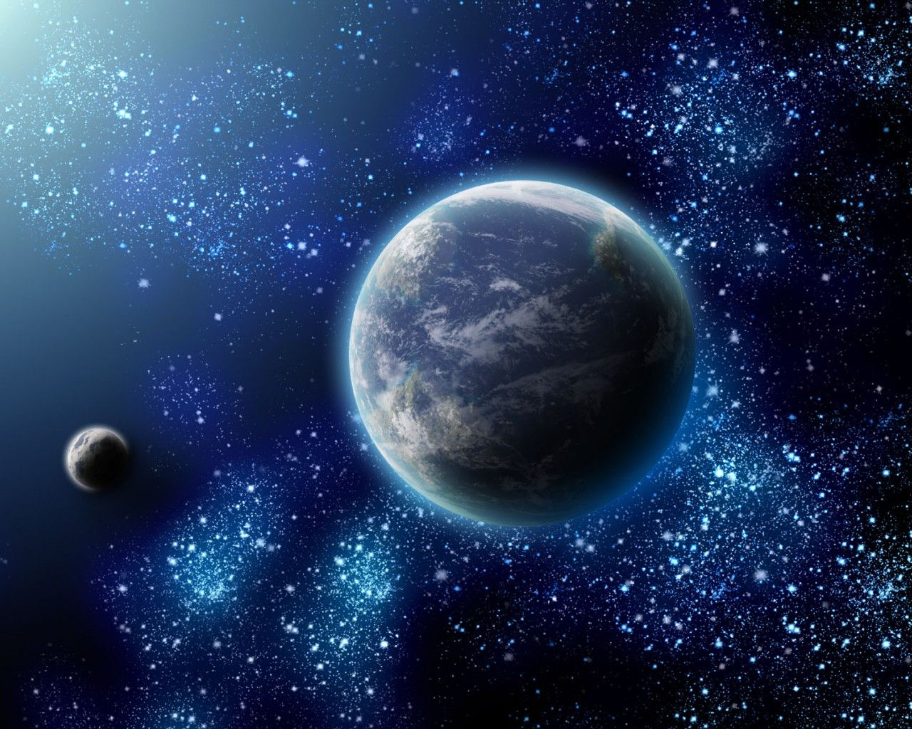 3d Universe Space 3 Earth From Space Wallpaper Space Space Pictures